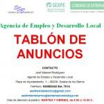 AEDL TABLON DE ANUNCIOS