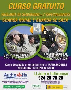 Cartel Guarda rural y vigilante COEBA 2015